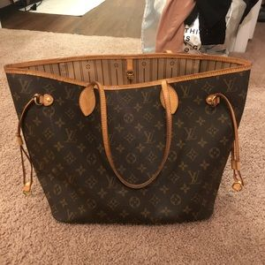 Authentic Louis Vuitton Neverfull MM Tote